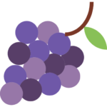 Winogrona - owoce do biura katowice