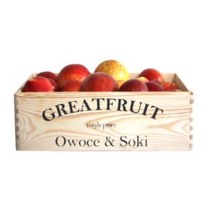 Skrzynka owoców GreatFruit jabłka (4,5 kg)