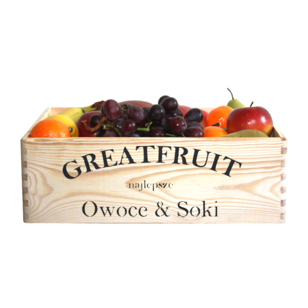 Skrzynka owoców GreatFruit MIX (4,5 kg)